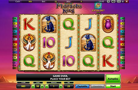 pharaohs ring игровой автомат